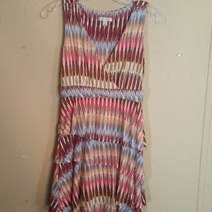 Ladies Size XS Multi Color Dress By NY & CO